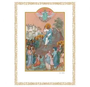 Библия. Книги Священного Писания Ветхого и Нового Завета - кожаная книга с иллюстрациями