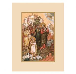 """Иллюстрированное подарочное издание """"Библия в миниатюрах Палеха"""""""