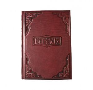 Библия в гравюрах Г. Доре в кожаном переплете