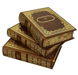 """""""Библиотека зарубежной классики"""" в 100 томах - вид 3 книг"""