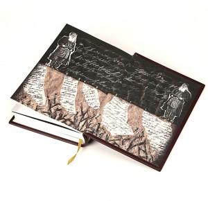 """Иллюстрации к подарочной книге """"Дневник для одного себя"""" Льва Толстого"""
