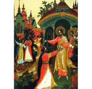 Подарочное издание Евангелие в красках Палеха