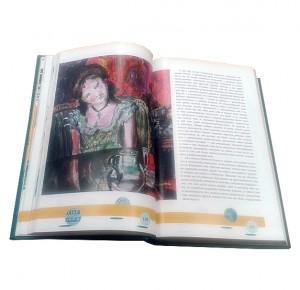"""Разворот с иллюстрацией подарочной книги """"Финансист"""""""