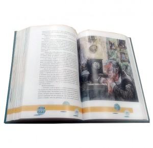 """Иллюстрации из книги """"Финансист""""издательства Пан пресс"""