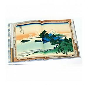 """""""Фудзияма"""" (с фарфоровым штофом). Подарочный набор - фото 5. книга в развороте"""