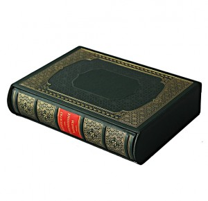 """Кожаная подарочная книга """"Гиппократ. Избранные книги"""""""