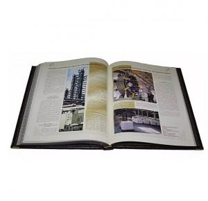 Разворот подарочной книги Золотые страницы купечества, промышленников и предпринимателей Татарстана в 2 томах