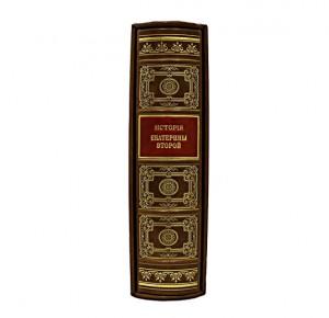 Иллюстрированная история Екатерины II. Сочинение А. Брикнера репринт - фото 2