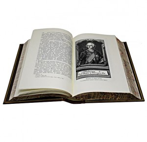 Иллюстрированная история Екатерины II. Сочинение А. Брикнера в кожаном переплете - фото 5