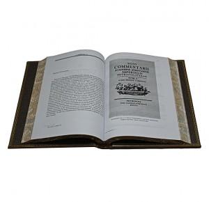 """Разворот книги - """"М. В. Ломоносов"""" Полное собрание сочинений в 10 томах"""