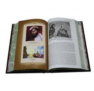 """Разворот подарочного издания книги """"Маска и душа. Страницы из моей жизни"""" Ф.И. Шаляпин"""