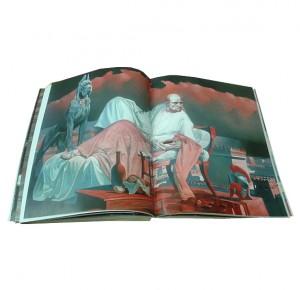 """Фото из подарочной иллюстрированной книги """"Мастер и Маргарита"""""""