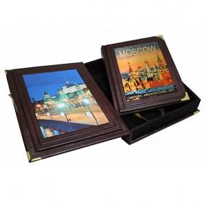"""Подарочная книга """"Moscow. History-Architecture-Art"""""""