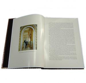 Московский Кремль подарочная книга в кожаном переплете на английском