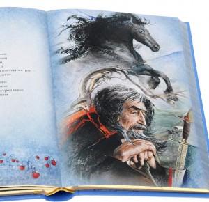 """Иллюстрация к подарочной книге """"Нежный призрак"""""""