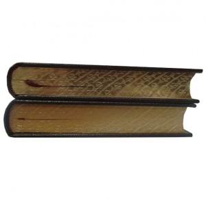 """Обрез кожаной книги """"Огненный ангел"""""""