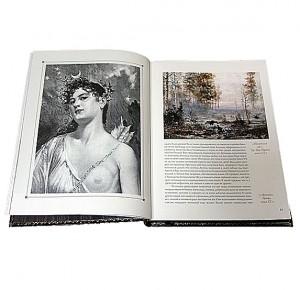 """Разворот подарочной книги с иллюстрациями """"Охота по перу"""" Фото 3"""