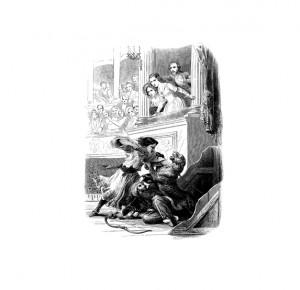 """Иллюстрация 4 к книге """"Парижские тайны"""". Роман в 2 томах"""