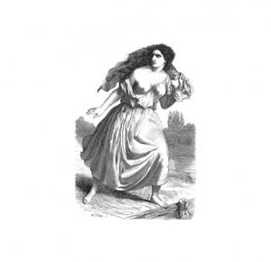 """Иллюстрация 2 к книге """"Парижские тайны"""". Роман в 2 томах"""