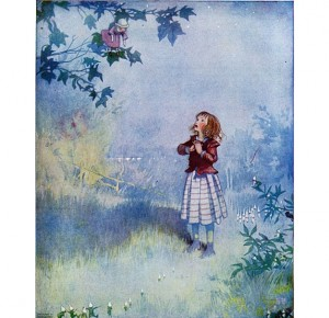 """Иллюстрация к подарочному изданию """"Принцесса на горошине"""""""