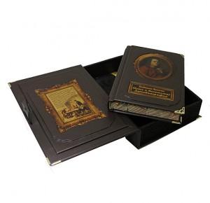 """Книга с коробом """"Путь к богатству. Автобиография"""" Бенджамин Франклин"""