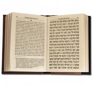 Разворот подарочной книги Тегилим