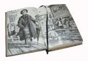 """Иллюстрации к подарочной книге """"Двенадцать стульев"""""""