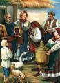Иллюстрация к подарочной книге Вечера на хуторе близ Диканьки