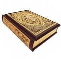 Библия с филигранью ручной работы покрытая золотом фото 4