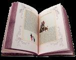 Разворот книги в кожаном переплете «Озорные рассказы»