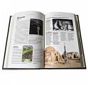 """Фото разворота подарочной кожаной книги """"Самые необыкновенные места планеты. Atlas Obscura"""""""