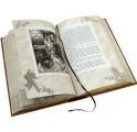 """Разворот книга в кожаном переплете """"Приключения Шерлока Холмса"""""""