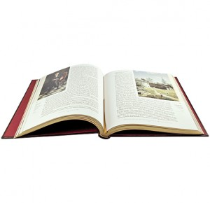 Разворот подарочной книги Государственная Третьяковская галерея