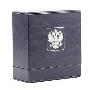 Кожаный короб для книги Владимир Путин. Цитаты и афоризмы