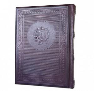 """""""Вискипедия"""" подарочное издание книги в кожаном переплете"""