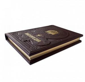"""""""Вискипедия"""" подарочное издание книги с золотым обрезом"""