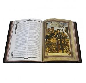 Разворот подарочного издания Военное искусство всех времен и народов