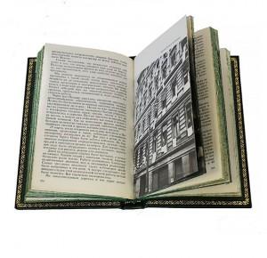 """Разворот подарочной книги """"Воспоминания и размышления"""" в 3 т. Жуков Г.К."""