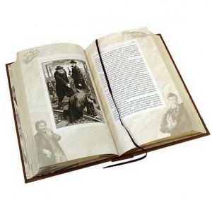 """Иллюстрации к книге в кожаном переплете """"Записки о Шерлоке Холмсе"""""""