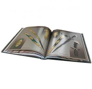 """Дорогая книга в кожаном переплете """"Златоуст. Холодное украшенное оружие"""" - иллюстрации"""